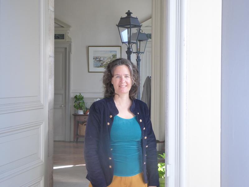 Jennifer Laur, dirigeante d'un organisme de formation